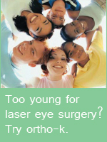 Reduce shortsightedness in teens with ortho-k