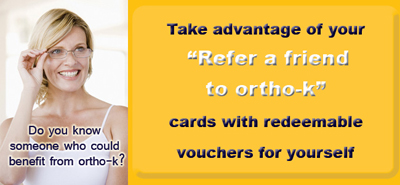 Refer a friend to ortho-k